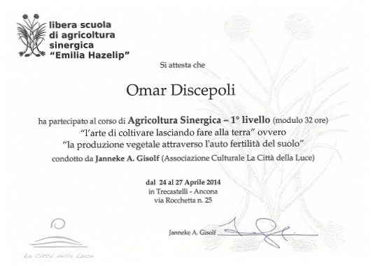Agricoltura Sinergica
